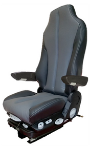 GraMag BLACK GREY SYN LEATHER SELECT SEAT