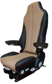 GraMag TAN BLACK SYN LEATHER SELECT SEAT