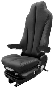 GraMag BLACK SYN LEATHER STANDARD SEAT