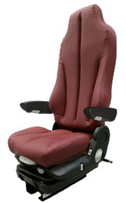 GraMag BURGUNDY SYN LEATHER STANDARD SEAT