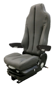 GraMag DARK GREY SYN LEATHER STANDARD SEAT