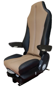 GraMag TAN BLACK SYN LEATHER STANDARD SEAT
