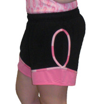 Breast Cancer Awareness Exercise Shorts by Live for Life