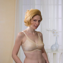Lace Accent Bandeau Mastectomy Bra