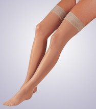 Activa Sheer Therapy Thigh High with Lace Top 15-20 mmHg