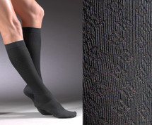 Activa Women's Trouser Sock Diamond Pattern 15-20 mmHg