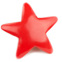 AniMails Mail-able Red Star (No Package Necessary!)