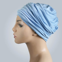 Blue Sky Casual Hat by Turban Diva