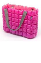 Inflatable & Reversible Bag in Magenta & Fucshia