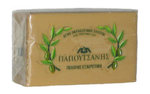Traditional Greek Green Olive Oil Soap by Papoutsanis