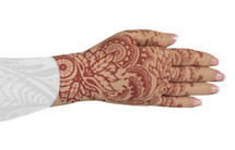 Lymphedivas Compression Glove Bodhi Beige Pattern