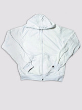 It's My Secret Post Surgical Drain Management Jacket with removable drain pouches - White Long sleeve