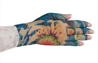 Lymphedivas Compression Glove - Koi Pattern
