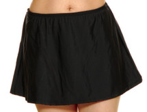 Swim Skirt Separate by T.H.E. - Black
