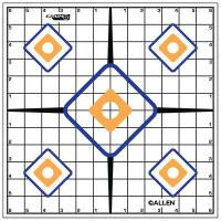EZ Aim Sight Grid Target 12x12 Inch Twelve Per Package - 026509152033