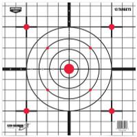 Eze-Scorer Sight-In Paper Target 12 Inch 13 Per Packge - 029057372137