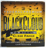 Premium Black Cloud Close Range 20 Gauge 3 Inch 1350 FPS 1 Ounce 4 Shot 25 Per Box - 029465029180