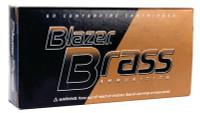Blazer Brass Ammunition .38 Special 125 Grain Full Metal Jacket 50 Per Box - 076683052049