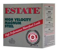 Estate High Velocity 20 Gauge 2.75 Inch 1400 FPS .75 Ounce 6 Steel Shot - 604544235463