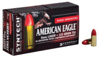 American Eagle Syntech 9mm Luger 115 Grain Total Synthetic Jacket - 604544617405