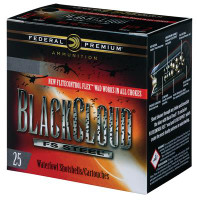 Premium Black Cloud FS Steel 12 Gauge 3 Inch 1350 FPS 1 Ounce 4 Shot - 604544623369