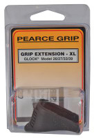 Grip Extension Glock Models 26/27/33/39 Adds 1 Inch - 605849200330