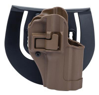 SERPA CQC Concealment Holster For Glock 17/22/31 Matte Finish Coyote Tan Right Hand - 648018009389