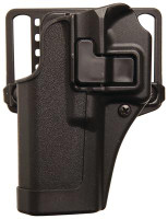 SERPA CQC Concealment Holster For Glock 17/22/31 Matte Finish Black Left Hand - 648018013812