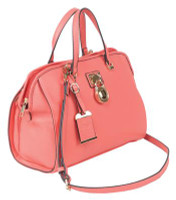 Satchel Series Concealed Carry Purse Coral - 672352010916