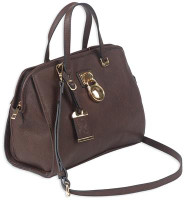 Satchel Series Concealed Carry Purse Chocolate Brown - 672352010923