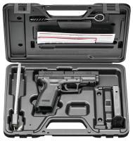 XD Essentials Package 9mm XD Black Service Model 4 Inch Barrel 16 Round - 706397859350