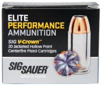 Elite Performance V-Crown 9mm 124 Grain Jacketed Hollow Point - 798681458202
