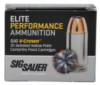 Elite Performance V-Crown 9mm 115 Grain Jacketed Hollow Point - 798681501724
