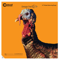 Caldwell Orange Peel Flake Off Turkey Targets 12 Inch 5 Per Package - 661120864851