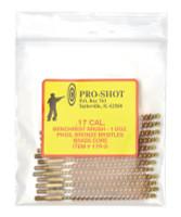 Brass Core-Bronze Bristle Rifle Length Bore Brush .17 Caliber - 709779100262