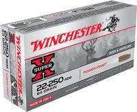 Winchester X222502 64gr 22-250 Rem Bullets - (20/box) - 020892215115