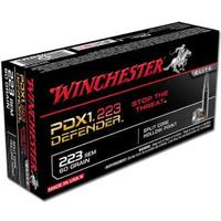 Winchester S223RPDB PDX1 Defender 60gr 223 Rem Bullets - (20/box) - 020892218741