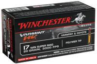 Winchester S17W20 20gr 17 Win Super Mag - (50/box) - 020892103085