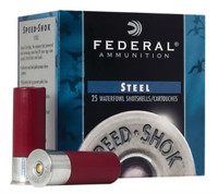 "Federal Wf1402 12ga 3"" 1.25oz Shells - (25/box) - 029465023713"