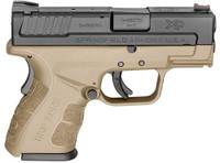 Springfield XDG9801FDEHC Sub Compact 9mm Pistol - 706397905125