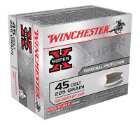 Super-X Handgun .45 Colt 225 Grain Silvertip Hollow Point - 020892201699