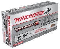 Varmint X 22-250 Remington 55 Grain Varmint X Polymer - 020892219991