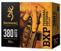 BXP Personal Defense .380 ACP 95 Grain Jacketed Hollow Point - 020892222496