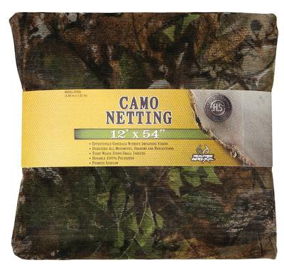 Mesh Netting Realtree Xtra Green Camouflage 54 Inches x 12 Feet - 021291072200