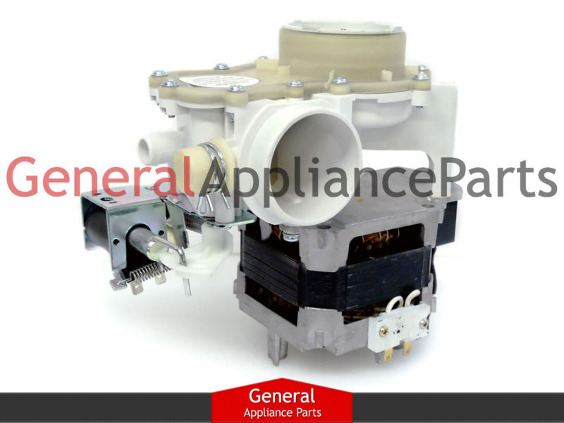 Ge Hotpoint Kenmore Rca Dishwasher Motor Pump Assembly
