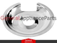 "Stove Range Cooktop 8"" Chrome Burner Drip Pan Bowl DBPA010"