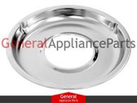 """GE Roper Gas Stove Range Cooktop 8 3/4"""" Burner Chrome Drip Pan Bowl WB31K5026"""