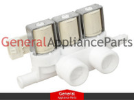 GE General Electric Washing Machine Washer Water Triple Inlet Valve WH13X10026
