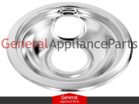 "Bosch Thermador Gaggenau 6"" Chrome Drip Bowl 486105 485518 14-41-394 14-29-663"