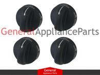 4x Whirlpool Estate Stove Oven Range PowerBurner Knobs 8273103 8273107 8273111